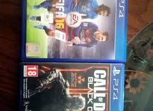 fifa 16 /call of duty black ops lll////////playstation 4