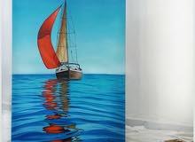 لوحة القارب