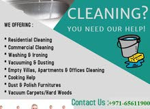 CLEANING SERVICES AVAILABLE IN SHARJAH