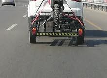 للبيع ترولي لنقل دراجات ناريه