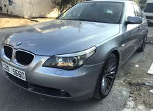 BMW 520 car for sale 2004 in Amman city