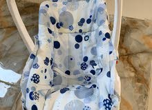 كرسي طفل لون ازرق