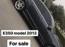 مرسيدس E350 موديل 2013