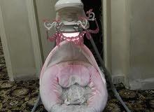 سرير اطفال كهربائي وارد بريطاني ماركة (Fisher-Price)