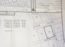 ارض سكنية بمساحة 600 م شناص الغوابي مخطط 203 وسط المنازل