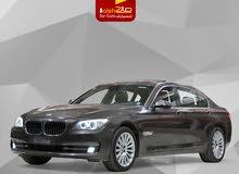 بي ام دبليو 730 ال اي موديل 2014