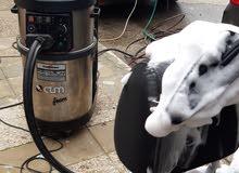 دراي كلين على البخار بأحدث الأجهزة العالميه .في الموقع