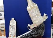 خنجر عمانية أصيلة بقرنين سعيدي وصوري