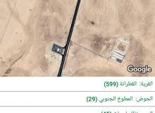 10 دنومات للبيع القطرانه على شارع عمان العقبه واجه 102 متربسعر مغري
