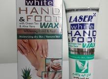 قناع اليد و القدم تبييض و ترطيب ويزيل الجلد الميت
