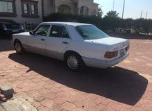 White Mercedes Benz S 300 1990 for sale