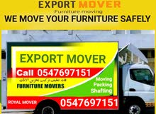 Export packer and mover