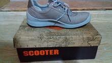 تخفيض  حذاء جلد صناعة تركية ممتازة ماركة اسكوتر