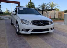 White Mercedes Benz C 350 2011 for sale