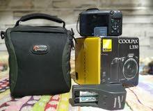 كاميرا Nikon L330 بالكرتونة وكل المشتملات شنطة وميموري وبطاريات وشاحن