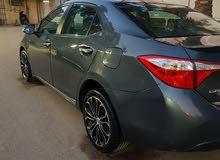 For sale 2014 Blue Corolla