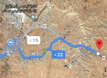 للبيع ارض 12 دونم في الموقر على الطريق الدولي
