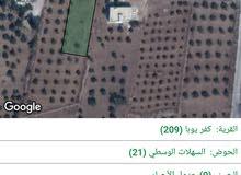 قطعة أرض مميزة للبيع - كفريوبا