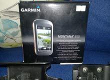 للبيع جهاز ملاحة جارمن مونتانا 650 مع اكسسواراته