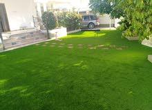 شركة المها الرائدة في تنسيق الحدائق تخفيضات على العشب 45 ملم الان 1.800 للمتر