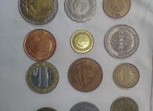 عملات معدنيه قديمه للبيع مختلفه البلدان