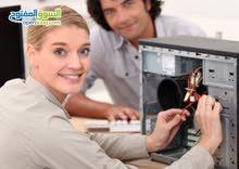 مهندس كمبيوتر وشبكات خدمه منازل وشركات