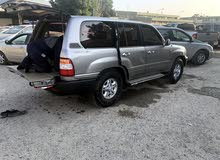 Silver Toyota Land Cruiser 2002 for sale