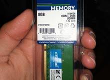 السلام عليكم مطلوب رام تردد 2666 DDR4 ار جي بي او بدون المهم ماركة معروفة