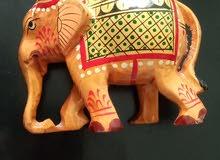 فيل خشب صنع في الهند هاند ميد( صنع يدوي)