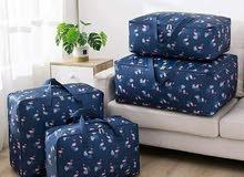 سيت حقائب تخزين ملابس يحتوي اربع قطع باحجام مختلفة