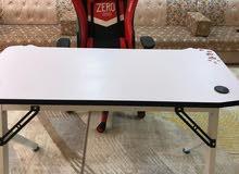 طاولة جيمنج مع rgb
