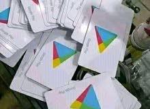بطاقات جوجل بلاي &اي تونز