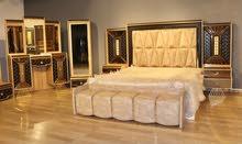 غرف نوم  تركي وجميع الموديلات عدنا حسب الطلب