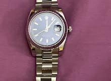 للبيع ساعة رولكس نظيفه جدا كوبي طبق الاصل