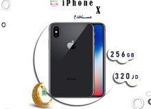 iPhone X 256G مستخدم شبه وكاله