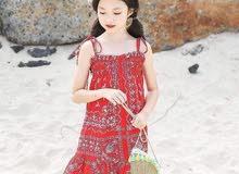 فستان أطفال من سنة إلى 14
