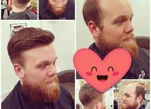الشعر الطبيعي لجمال مظهر الرجل