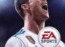 للبيع لعبة FIFA 18 اصدار اللغة العربية لجهاز PS4