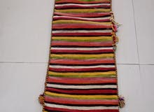 Vieu coussin nomade  tissé fin,fait à la main, pur-laine,origine (berbère) Algér