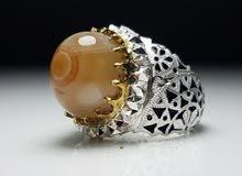 خاتم فضة صياغة سجادي