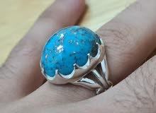للبيع خاتم حجر فيروز كرماني