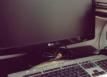 كومبيوتر مكتبي للبيع مع كامل ادواته بدون اعطال