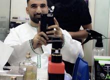 حلاق مغربي خبرة في دول الخليج