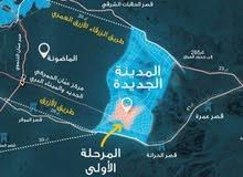 ارض للبيع في الضليل منطقة قصر الحلابات