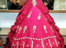 فستان عرس شبه جديد