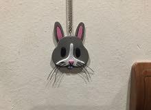 قلادة على شكل ارنب ايموجي