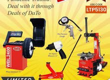 Eid offer Tyre Shop equipment