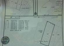 للبيع ارض مساحة 1625 في  بوادي عبري
