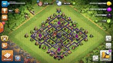Town Hall 9 nearly maxed with 1500+ gems and 5 builders