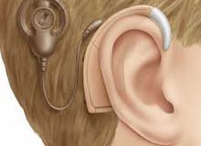 مطلوب سماعة أذن مستعملة لطفل اصم